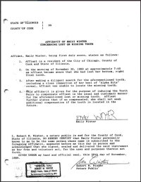 Lawyer Parents Make Daughter Sign a Tooth Fairy Affidavit ...