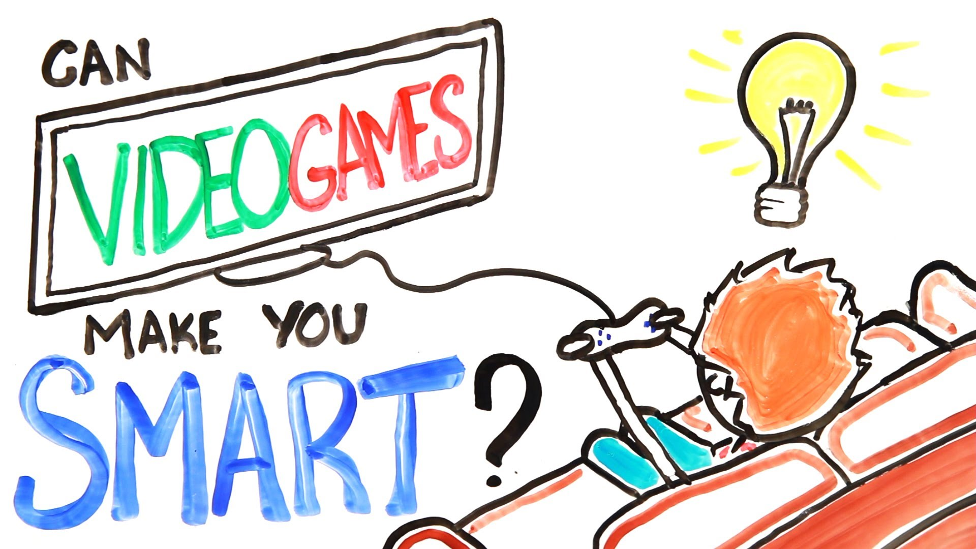 Can Video Games Make You Smarter by AsapScience