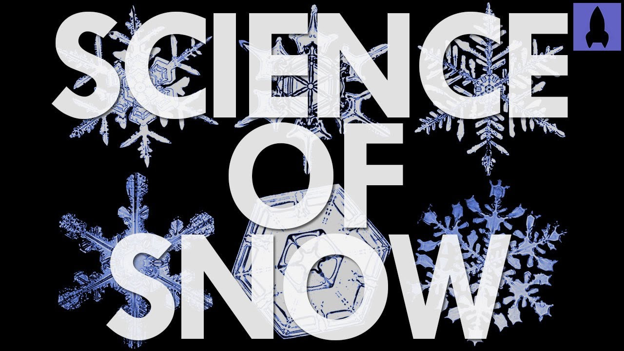 Crystallography Footage Shows the Chemistry of How Snowflakes Form ...