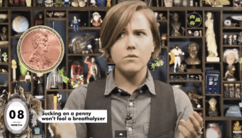 Hannah Hart and Mary Louise Parker Exchange Puns and Bake
