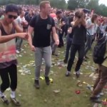 A Group of Dutch Ravers Dancing to 'The Benny Hill Show' Theme Song 'Yakety Sax'