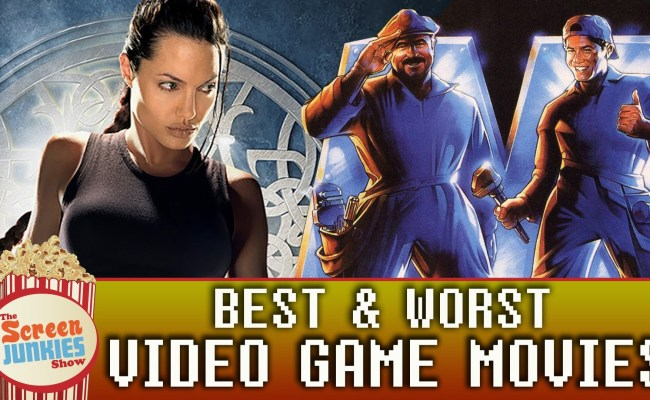 The Best And Worst Movies Based On Video Games