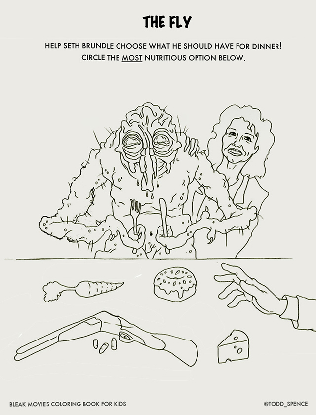 The 'Bleak Movies Coloring Book for Kids' Gives R-Rated
