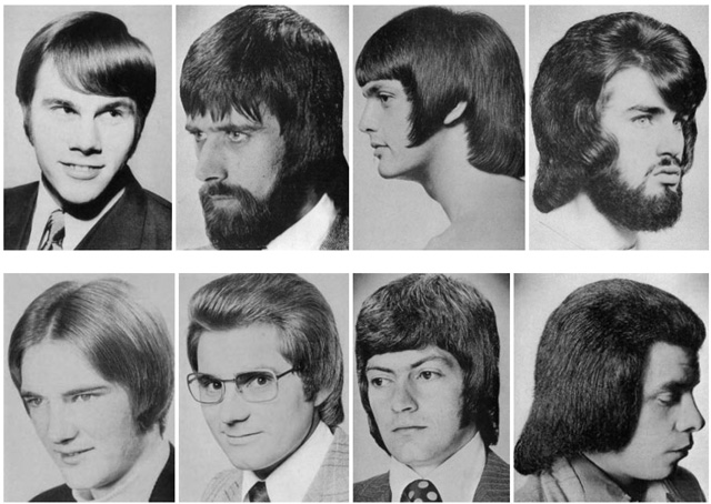 hilarious montage of bad hairstyles