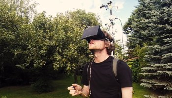 Living With Lag, An Oculus Rift Virtual Reality Headset Experiment