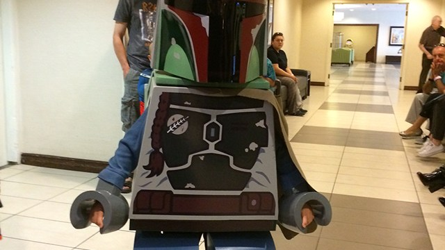 How To Make Giant Fully Functional Lego Minifigure Costume Out Of