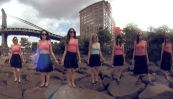 LightSpin, A 360 Degree Light Painted Dance Video