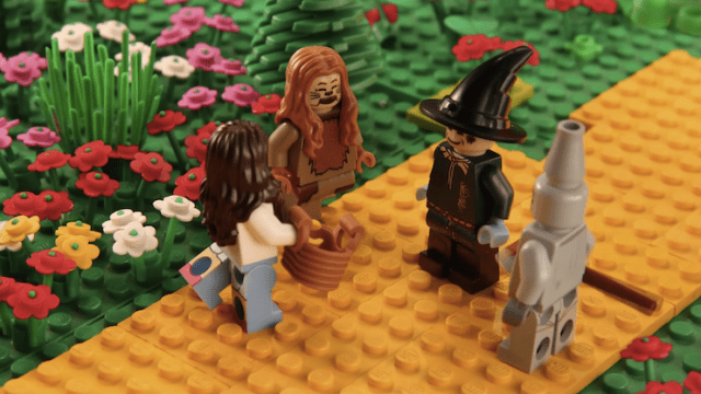 Famous Bands Recreated In LEGO - 15 awesome movie scenes recreated with lego