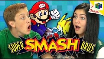 Kids React to the Original Nintendo Game Boy Handheld Video Game