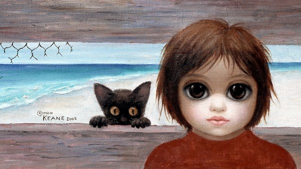 Margaret Keane Artist Iconic 'big-eye' Paintings Of People And Animals