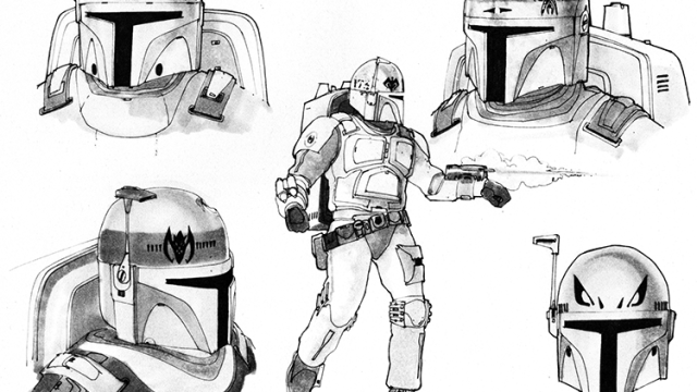 Original Star Wars Concept Art By Ralph Mcquarrie Comes To Life In