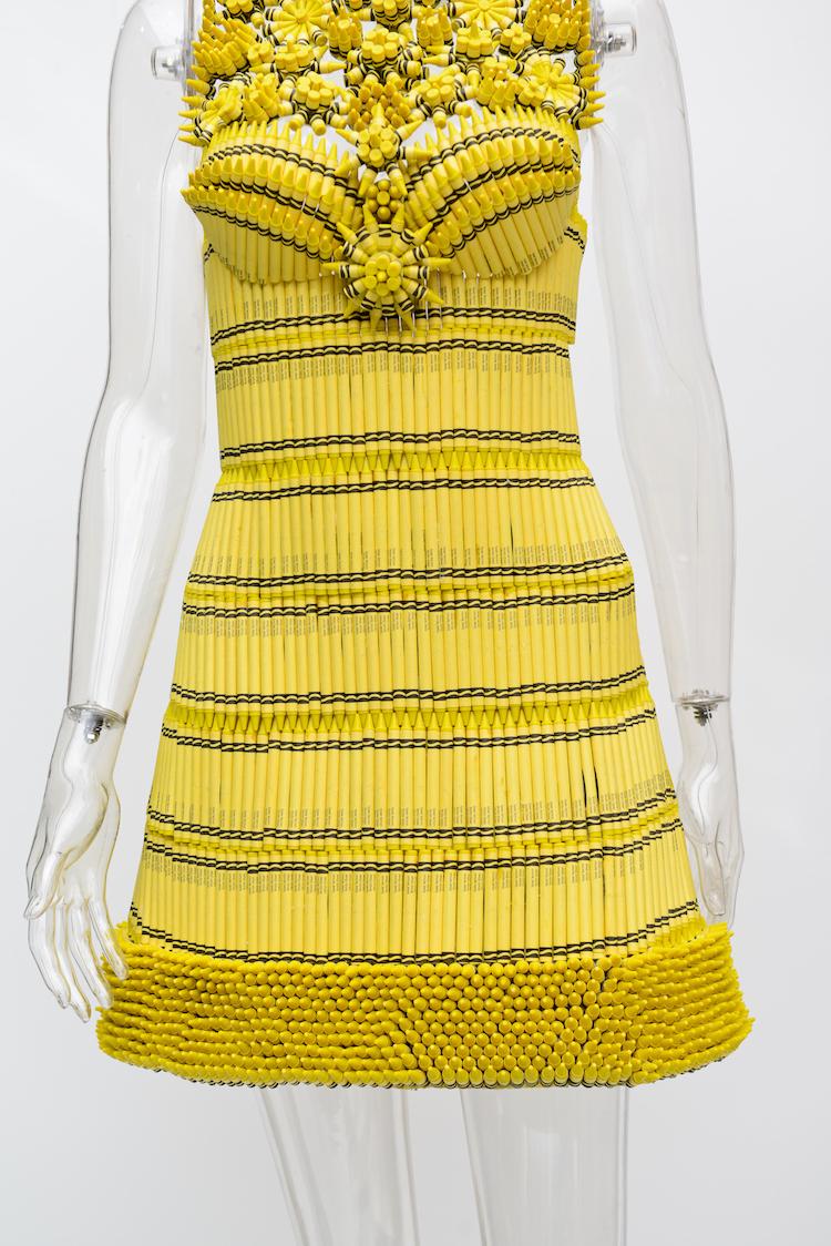 Unmellow Yellow Dress