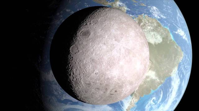 A View From The Other Side A Spectacular Nasa Time Lapse Visualization  C B