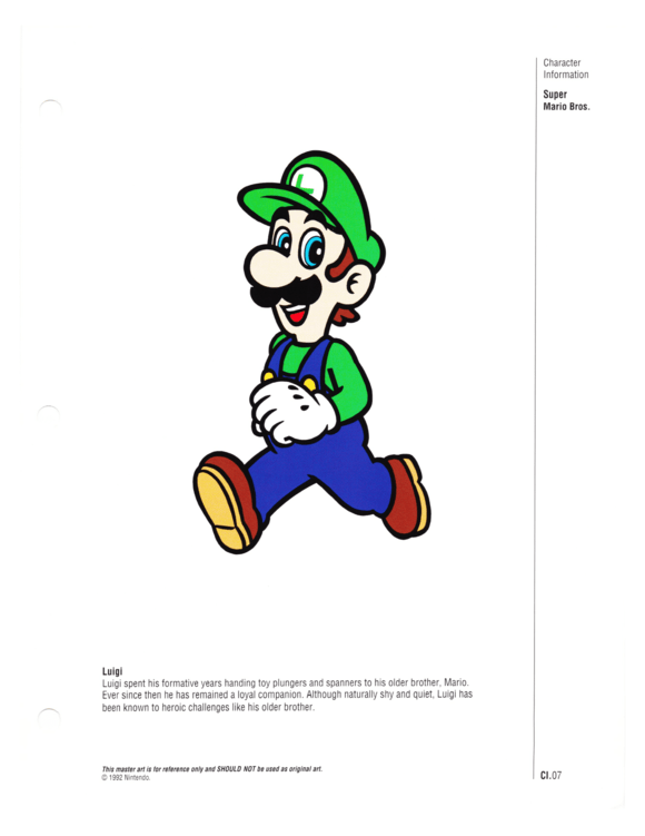 Nintendo Character Manual