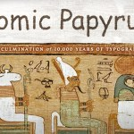 Comic Papyrus, A Complete Font Designed as a Mashup of Papyrus and Comic Sans