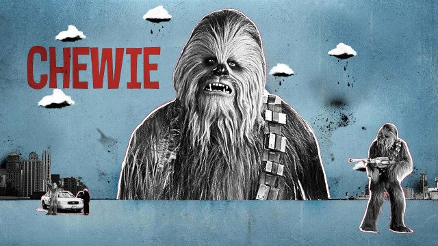Star Wars Chewbacca Bathrobe - Hoodie will turn you into chewbacca from star wars