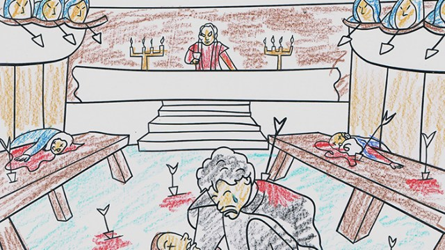 Artist Imagines Pages For George RR Martins Actual Upcoming Adult Game Of Thrones Coloring