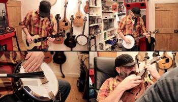 Banjo Guy Ollie Performs a Multitrack Cover of the Turrican
