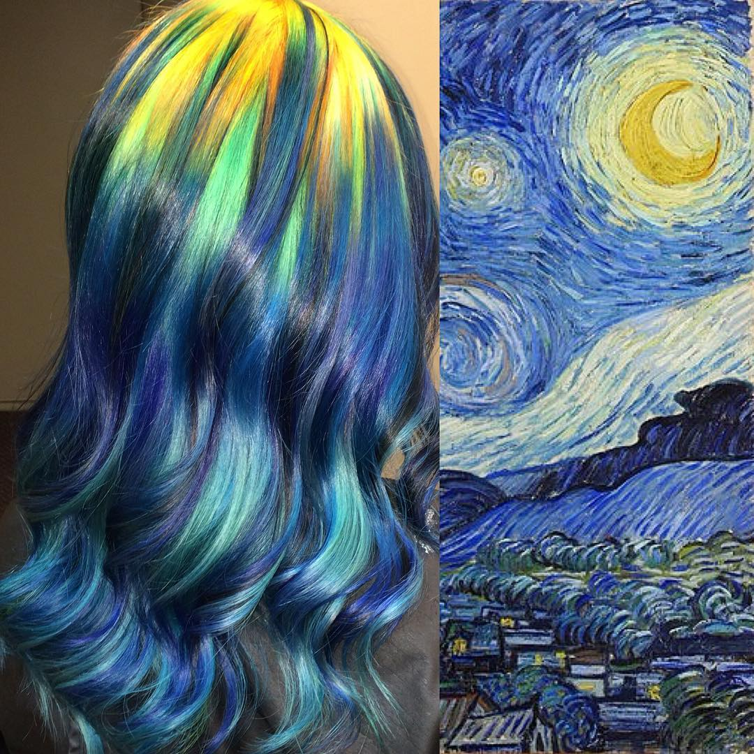 Hair Color Famous Paintings