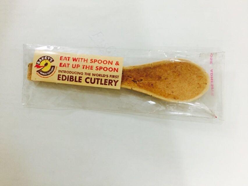 sendok yang bisa dimakan