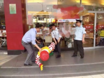 Statue Of Ronald Mcdonald Arrested In China