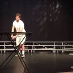 High School Senior Effortlessly Flips Water Bottle During Talent Show Blowing Everyone's Mind