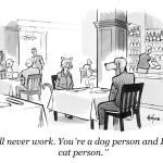 Dog Person vs Cat Person