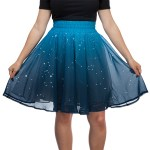 A Blue Skirt With 250 Twinkling LEDs That Ensures the Stars Will Be Out Whenever It's Worn
