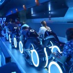 A Full POV Video Ride Through the TRON Lightcycle Power Run Roller Coaster at Shanghai Disney