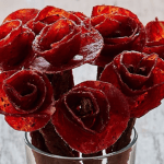 Say It With Beef, Edible 'Broquets' of Flowers Made of Delicious Beef Jerky