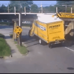 A Compilation of the Tops of Trucks Being Stripped Off as They Pass Under a Low Clearance Bridge