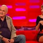 John Cleese Hilariously Insults Taylor Swift's Lovely Scottish Fold Cat on the Graham Norton Show