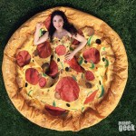 An Incredible Pizza Dress That Magically Fans Out Into an Entire Pizza Pie While Sitting