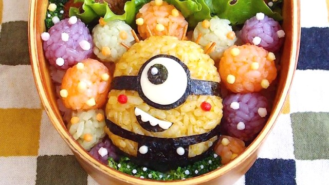 Japanese Woman Creates Cute Pop Culture Bento Boxes For Her Husband