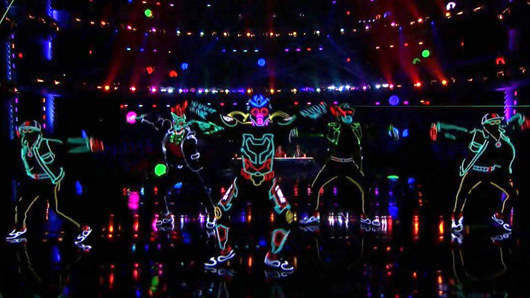 Light Balance Loses Control on the Americau0027s Got Talent Stage With a High Energy Dance  sc 1 st  Laughing Squid & Light Balance Lights Up the u0027Americau0027s Got Talentu0027 Stage With a ... azcodes.com