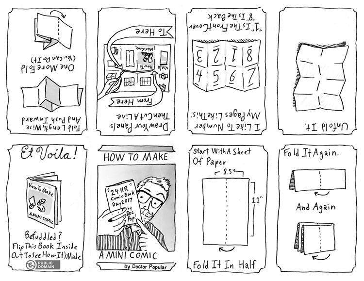 How to Make Your Own Mini-Comics