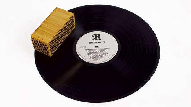 rokblok Rokblok, A Small Wireless Record Player That Plays Music When Placed on Top of a Record Random