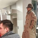 Two Kids Disguised as a Tall Man in a Trench Coat Try to See 'Black Panther' For Price of One Person