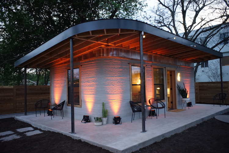 3d-printed-home1 An Amazing 3D Printer That Can Build Homes n 24 Hours for $4,000 Within Impoverished Communities Random