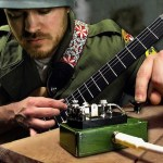 The Oddly Soothing Sound of an Electric Guitar Being Played Through a Telegraph Machine