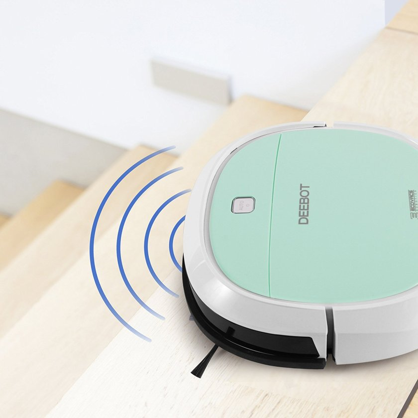 deebot-mini2-sensor Powerful ECOVACS Mini Robotic Vacuum Cleaner That Can Be Easily Controlled With a Smartphone Random