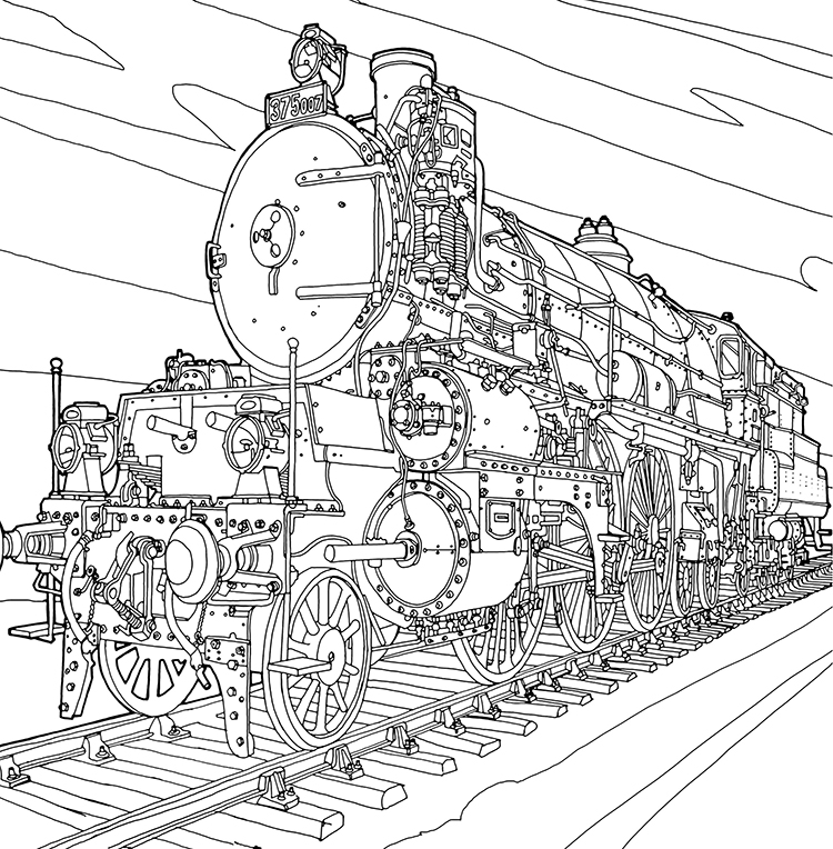 fantastic-machines-3 Fantastic Machines, A Coloring Book Filled With Fun Images of Real and Imagined Devices Random
