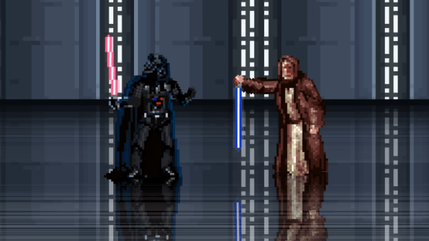 how-star-wars-could-have-ended-in-60-seconds Obi-Wan Kenobi Ends Star Wars in One Minute by Dropping His Lightsaber Through the Death Star Random