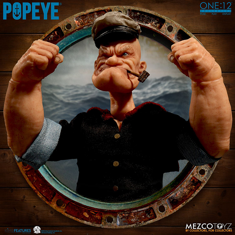 popeye-figure-3 A Realistic Popeye the Sailor Action Figure Random