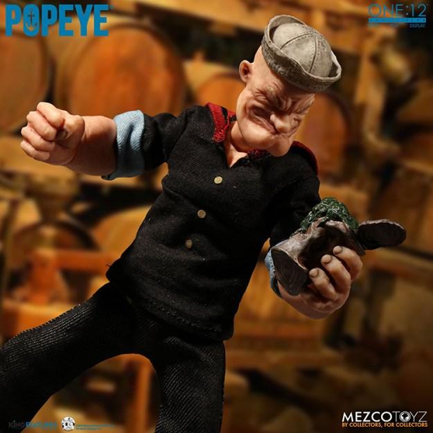 popeye-figure-4 A Realistic Popeye the Sailor Action Figure Random