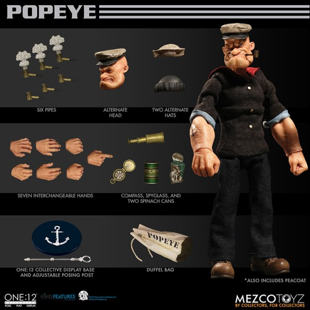 popeye-figure-6 A Realistic Popeye the Sailor Action Figure Random