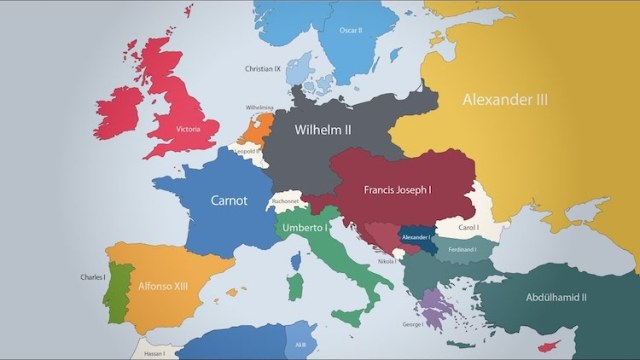 An Animated Map Of Europe 1000 Ad To The Present