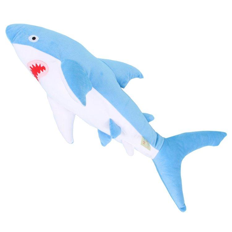 splash-blue-shark Soft Huggable Brightly Colored Shark Plushies Random