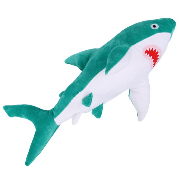turquoiseshark Soft Huggable Brightly Colored Shark Plushies Random