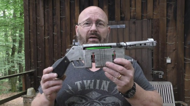 a-homemade-slingshot-version-of-reys-blaster-pistol-that-shoots-glow-sticks A Functioning Slingshot Version of Rey's Blaster Pistol That Shoots Glow Sticks Random